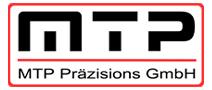 MTP Präzisision | Präzision, die begeistert. Logo